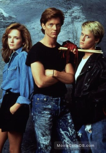 Some Kind of Wonderful - Publicity still of Lea Thompson, Eric Stoltz & Mary Stuart Masterson