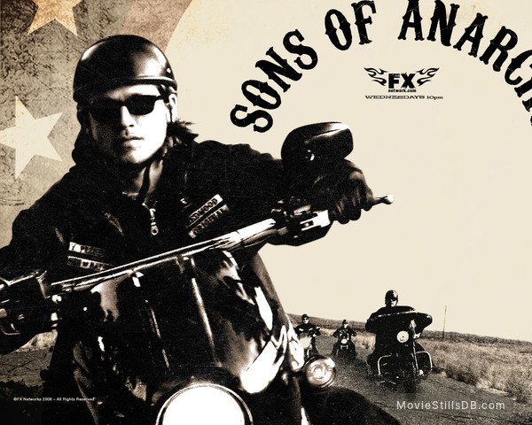 Sons of Anarchy - Wallpaper with Charlie Hunnam