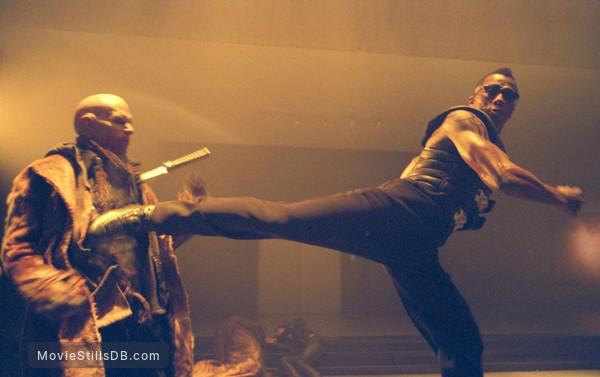 Blade 2 - Publicity still of Wesley Snipes & Luke Goss