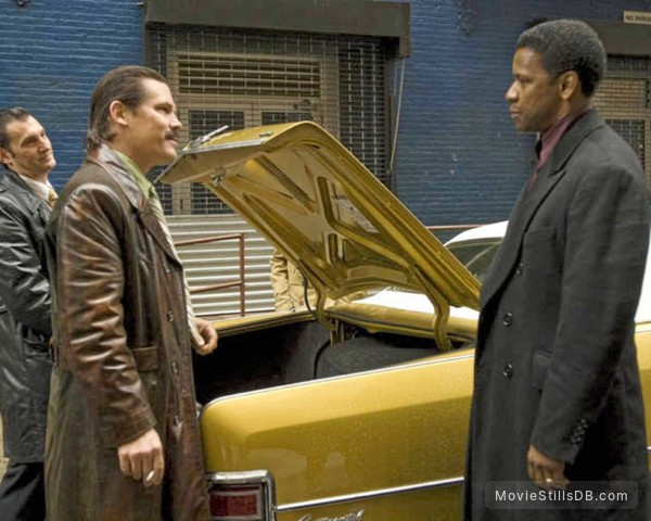 American Gangster - Publicity still of Josh Brolin & Denzel Washington