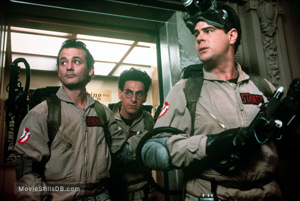 Ghost Busters - Publicity still of Bill Murray, Dan Aykroyd & Harold Ramis