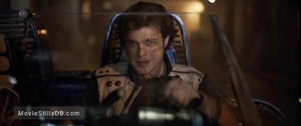 Solo: A Star Wars Story - Publicity still of Alden Ehrenreich