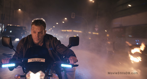 Jason Bourne - Publicity still of Matt Damon