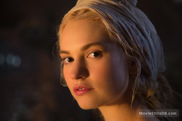 Cinderella - Publicity still of Lily James