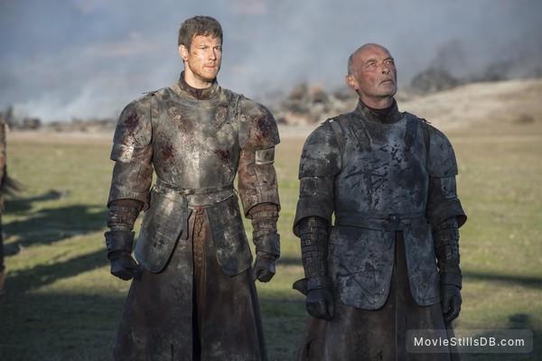 Game of Thrones - Publicity still of James Faulkner & Tom Hopper