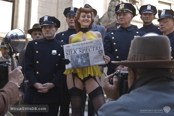 Watchmen - Publicity still of Carla Gugino