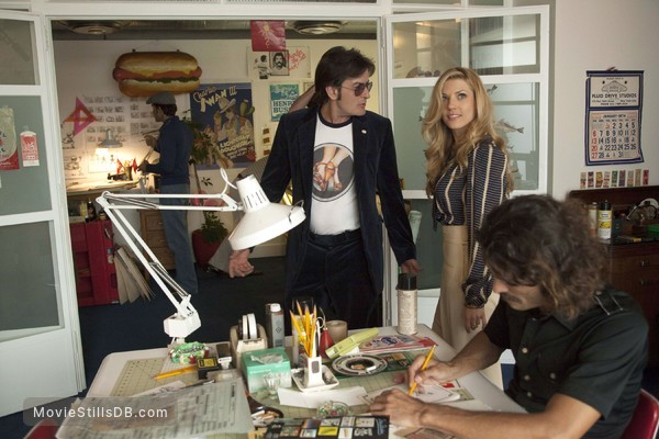 A Glimpse Inside the Mind of Charles Swan III - Publicity still of Charlie Sheen & Katheryn Winnick