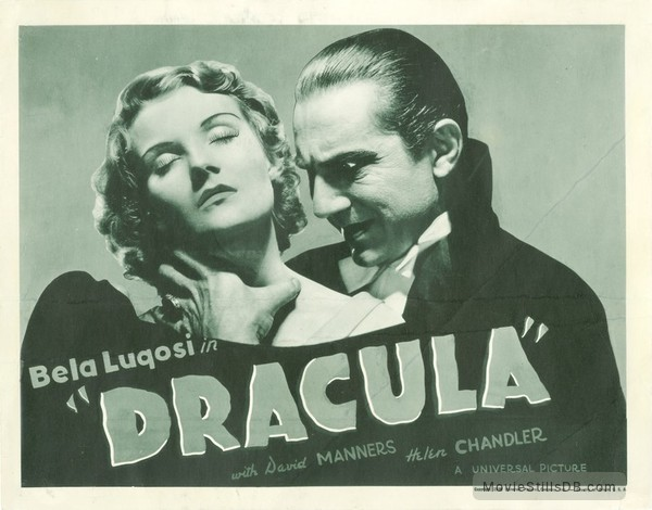 Dracula - Lobby card with Helen Chandler & Bela Lugosi