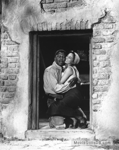 Porgy and Bess - Publicity still of Sidney Poitier & Dorothy Dandridge