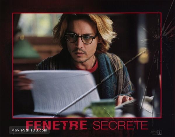 Secret Window - Lobby card with Johnny Depp