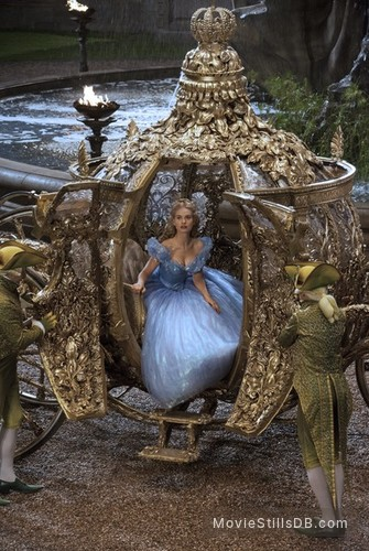 Cinderella - Publicity still of Lily James