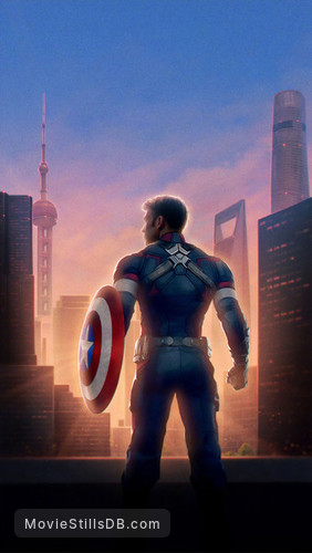 Avengers: Endgame - Promotional art with Chris Evans