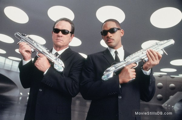 Men In Black II - Publicity still of Will Smith & Tommy Lee Jones