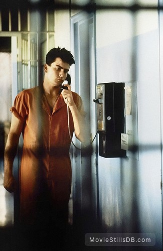 Major League - Publicity still of Charlie Sheen