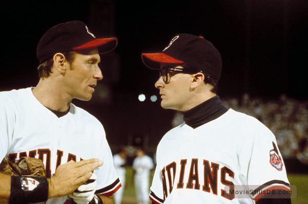 Major League - Publicity still of Corbin Bernsen & Charlie Sheen