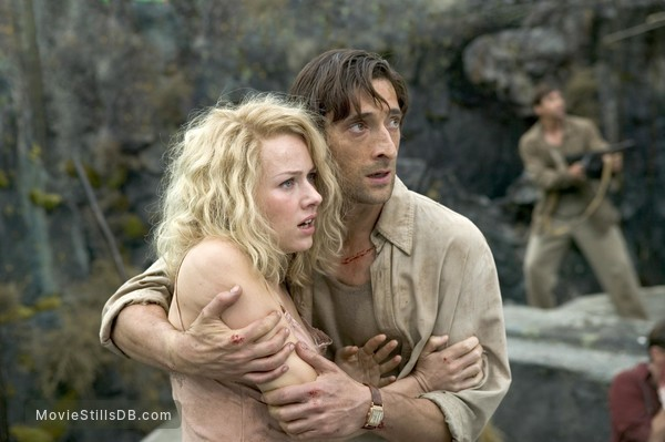 King Kong - Publicity still of Naomi Watts & Adrien Brody