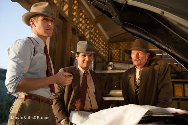 Gangster Squad - Publicity still of Ryan Gosling, Michael Peña & Robert Patrick