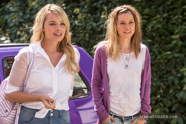 About Time - Publicity still of Margot Robbie & Lydia Wilson