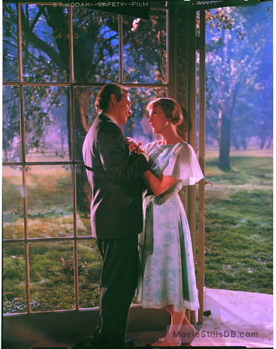 The Sound of Music - Publicity still of Christopher Plummer & Julie Andrews