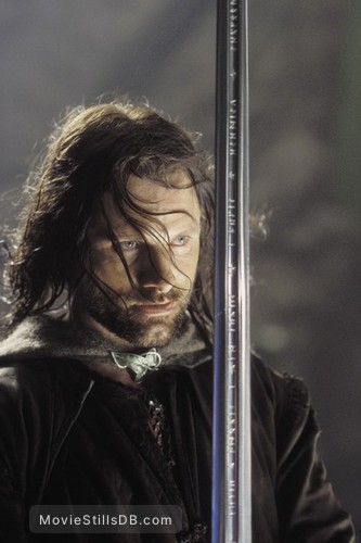 The Lord of the Rings: The Return of the King - Publicity still of Viggo Mortensen