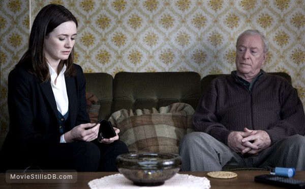 Harry Brown - Publicity still of Michael Caine & Emily Mortimer