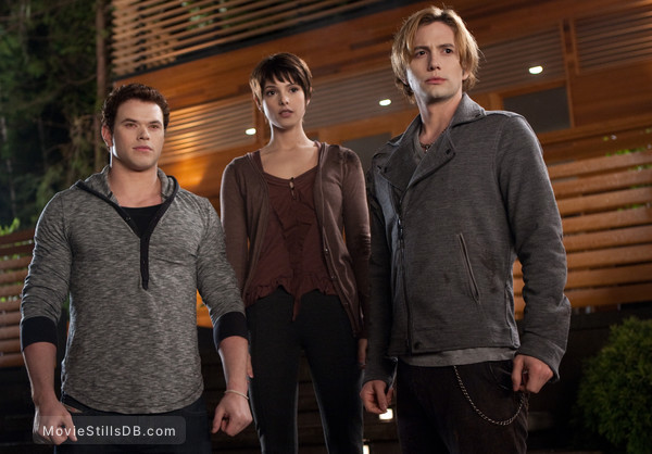 The Twilight Saga: Breaking Dawn - Part 1 - Publicity still of Ashley Greene, Jackson Rathbone & Kellan Lutz