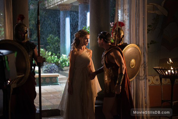 The Legend of Hercules - Publicity still of Gaia Weiss