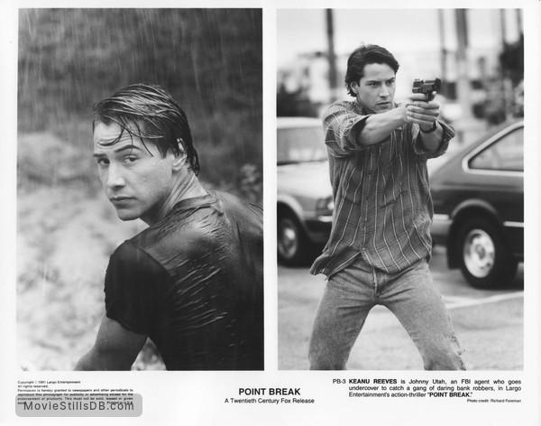 Point Break - Publicity still of Keanu Reeves