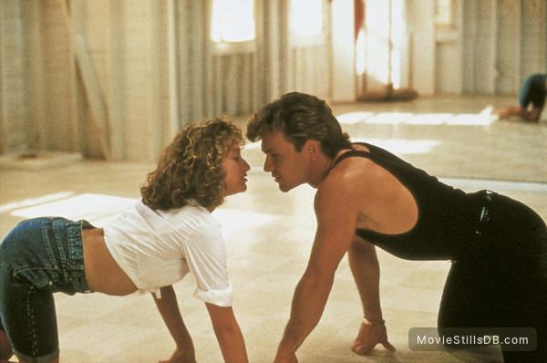 Dirty Dancing - Publicity still of Jennifer Grey & Patrick Swayze