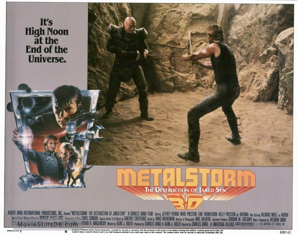 Metalstorm: The Destruction of Jared-Syn - Lobby card with