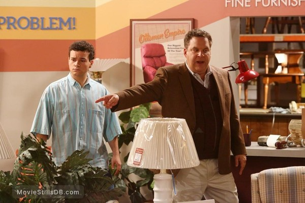 The Goldbergs - Publicity still of Jeff Garlin & Troy Gentile