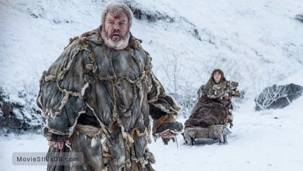 Game of Thrones - Publicity still of Kristian Nairn & Isaac Hempstead-Wright