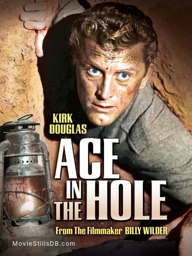 Ace in the Hole - Promotional art with Kirk Douglas