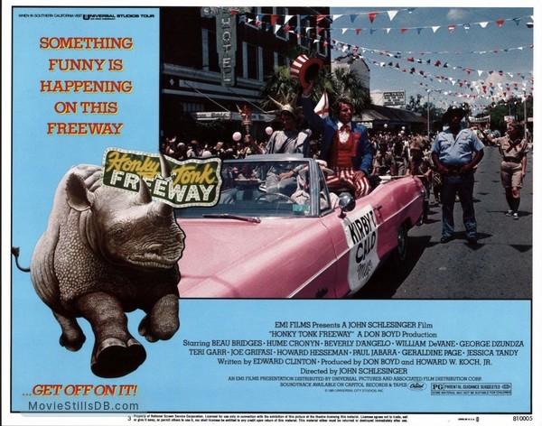 Honky Tonk Freeway - Lobby card with William Devane