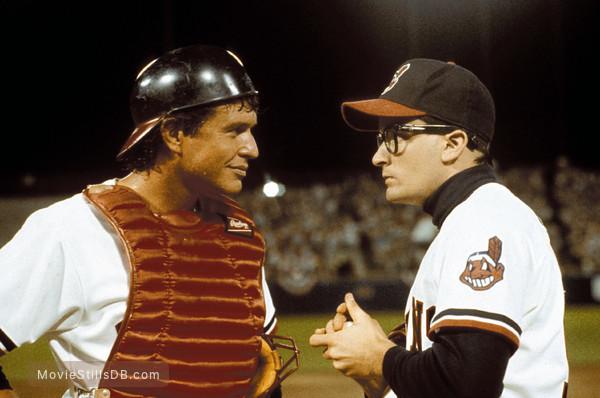 Major League - Publicity still of Tom Berenger & Charlie Sheen