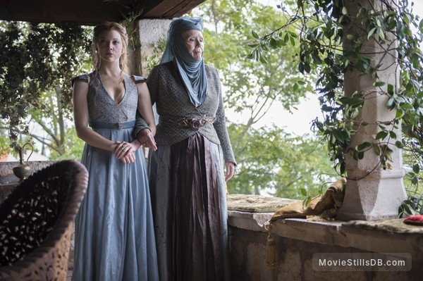 Game of Thrones - Publicity still of Natalie Dormer & Diana Rigg