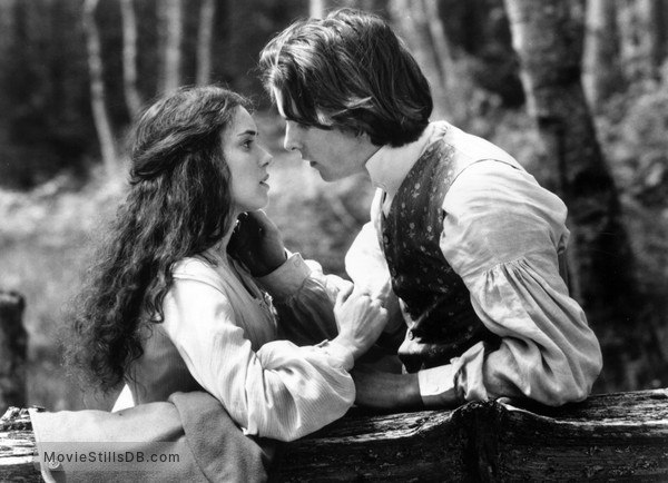 Little Women - Publicity still of Winona Ryder & Christian Bale