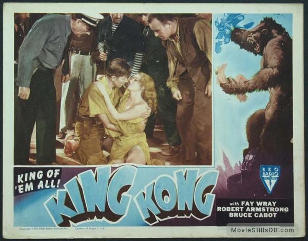 King Kong - Lobby card with Fay Wray