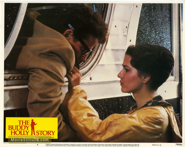 The Buddy Holly Story - Lobby card with Gary Busey & Maria Richwine