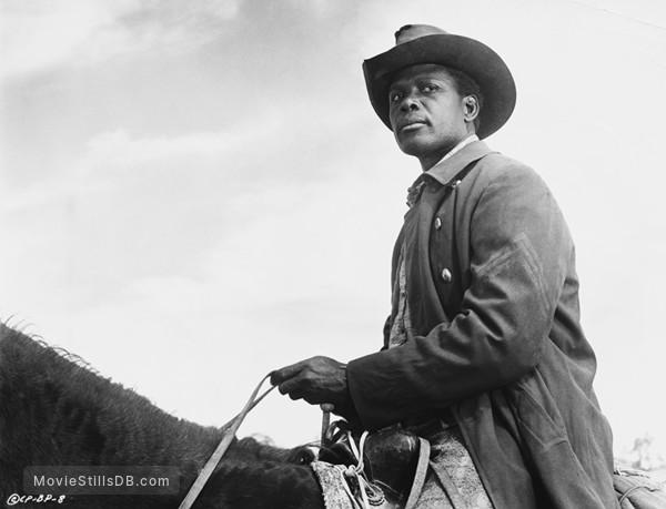 Buck and the Preacher - Publicity still of Sidney Poitier