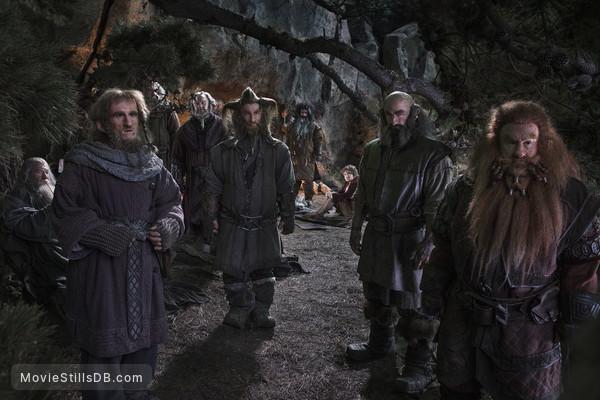 The Hobbit: An Unexpected Journey - Publicity still of Ian McKellen, Jed Brophy, Peter Hambleton, Graham McTavish & Adam Brown
