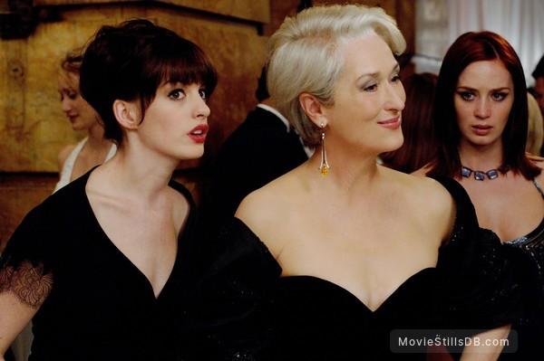 The Devil Wears Prada - Publicity still of Meryl Streep, Anne Hathaway & Emily Blunt