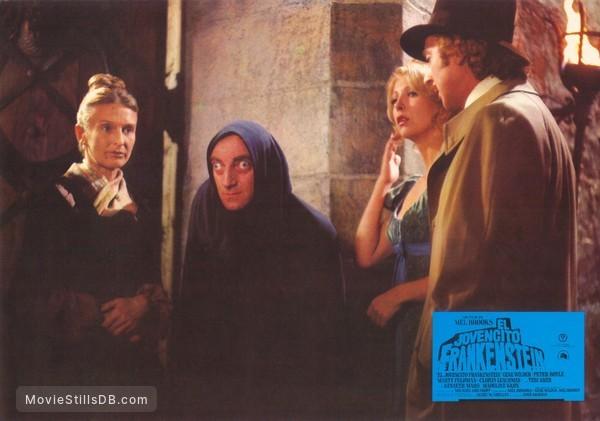 Young Frankenstein - Lobby card with Cloris Leachman, Peter Boyle, Teri Garr & Gene Wilder