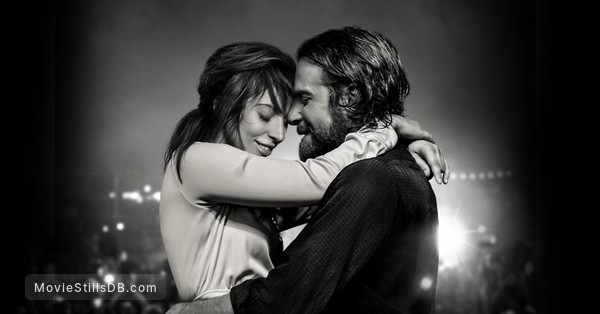 A Star Is Born - Promotional art with Lady Gaga & Bradley Cooper