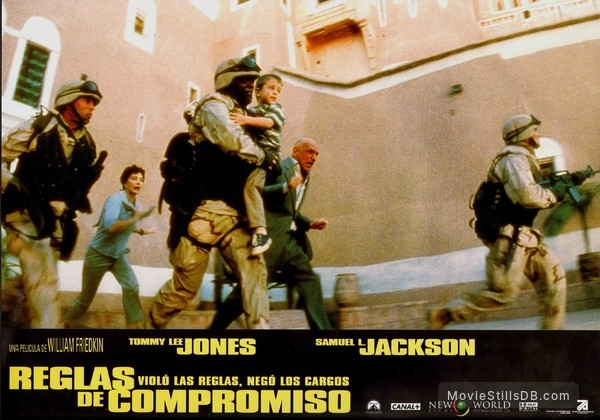 Rules of Engagement - Lobby card with Samuel L. Jackson & Ben Kingsley