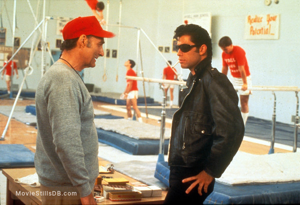 Grease - Publicity still of John Travolta & Sid Caesar