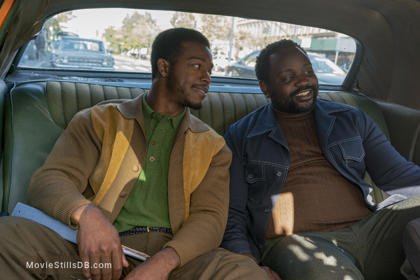 If Beale Street Could Talk - Publicity still of Stephan James & Brian Tyree Henry