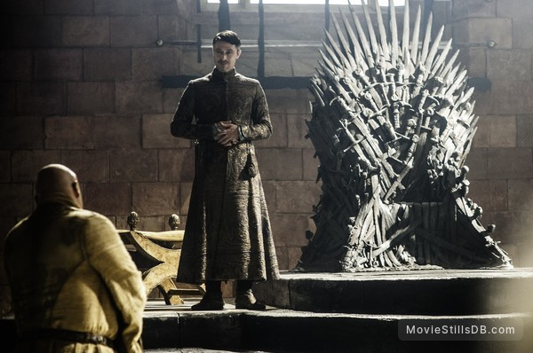 Game of Thrones - Publicity still of Conleth Hill & Aidan Gillen