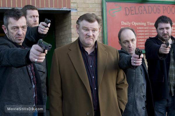 Perrier's Bounty - Publicity still of Brendan Gleeson, Brendan Coyle, Michael McElhatton, Francis Magee & Pádraic Delaney
