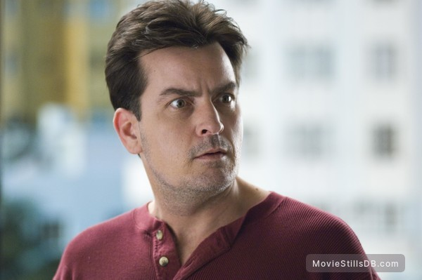 Scary Movie 4 - Publicity still of Charlie Sheen